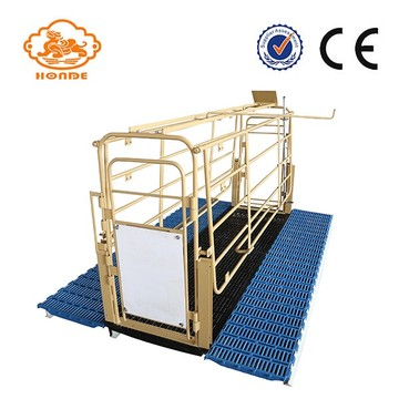 Solid Rod Gestation Stalls for Pig Farm Equipment