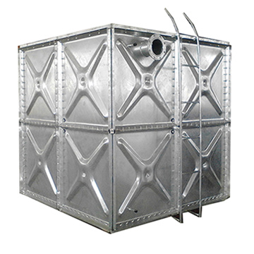 Irrigation Water Tank Industrial Water Storage HDG Hot-dip Galvanized Water Tank