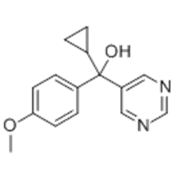 5-Pyrimidinemethanol, a-cyclopropyl-a-(4-methoxyphenyl)- CAS 12771-68-5