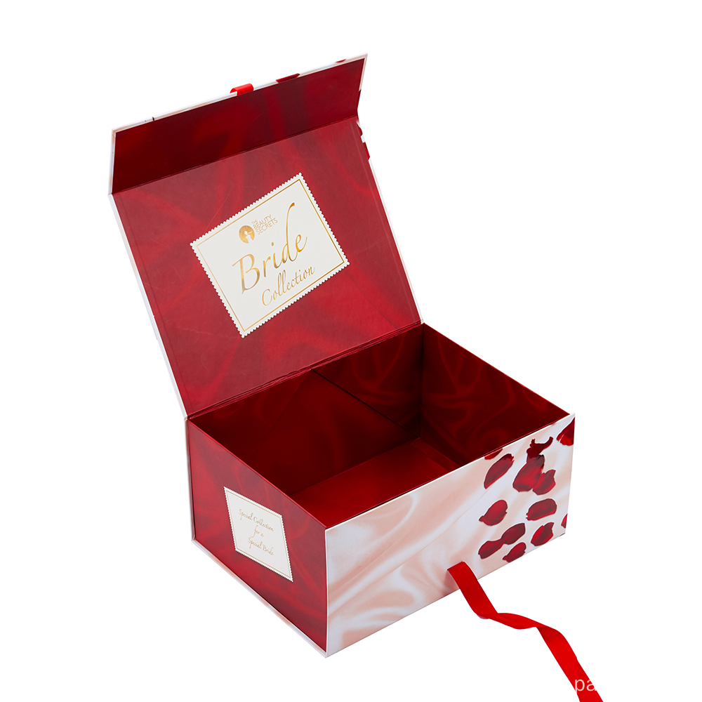 Clothing Gift Rigid Magnetic Paper Folding Box