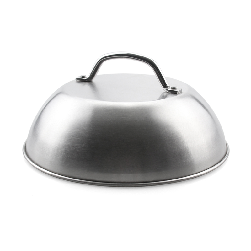 "9"" Stainless Steel Burger Cover"