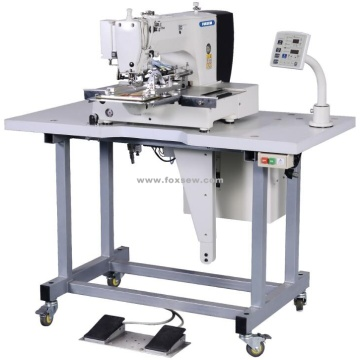 Automatic Label Attaching Sewing Machine