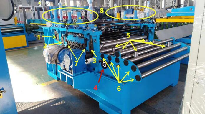 cut to length slitting