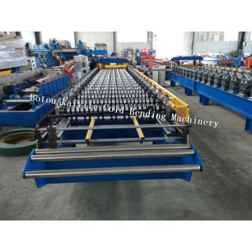 PPGI Roofing Steel Glazed Tile Making Machine