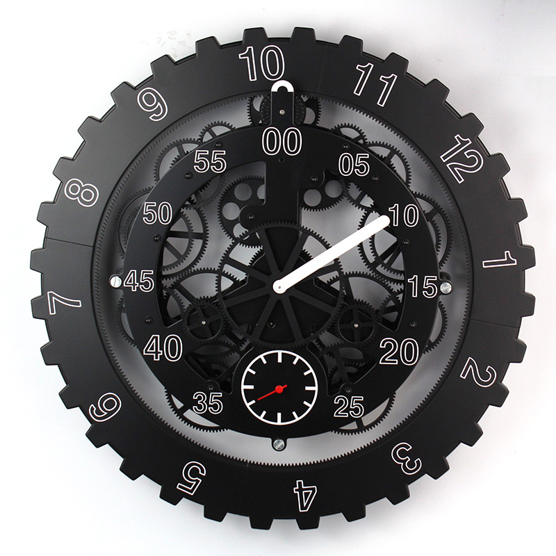 Wall Gear Clock