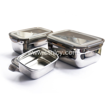 Wholesale Custom Eco-Friendly Stainless Steel Food Container