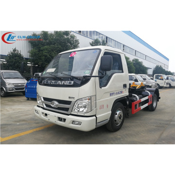 Hot FOTON 4cbm waste management roll off truck