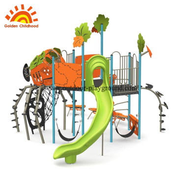School outdoor playground equipment items