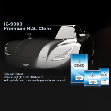 Best Selling High Solid Clearcoat For Car Refinish
