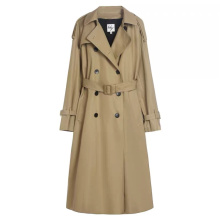Custom Women Fashionable  New Polyester Trench Coat
