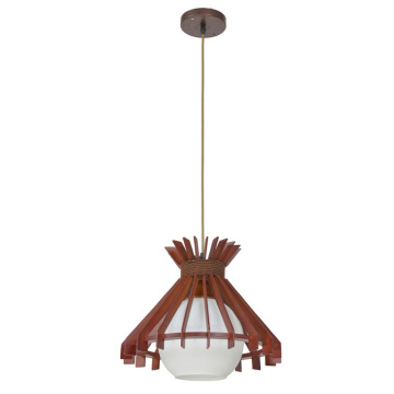Loft pendant light wood ceiling lamp