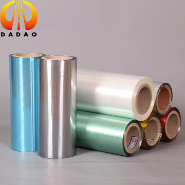 gold color metallized PET hairline film