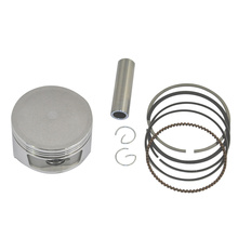 For Honda CH250 Bore 72mm Standard +75 +50 Size Motorcycle Engine Accessory Piston Ring Kits Motor Bike Cylinder Parts