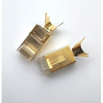 Cat7 RJ45 connector STP CAT7 Modular plug