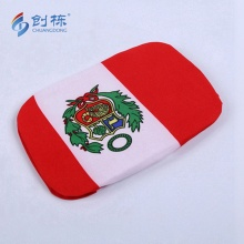 Digital print custom logo flag car mirror cover