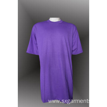Custom 100% Cotton Men's Round-Neck T-shirt 160G