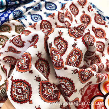 Rayon Printed Fabrics Big Company Good Design