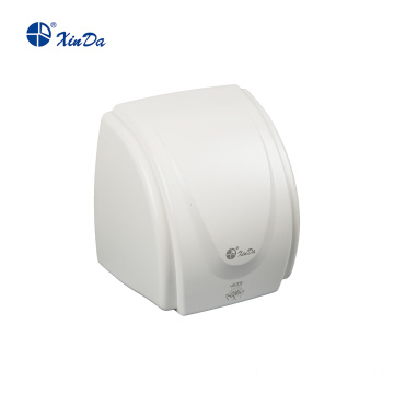Anti-shock signal detection hand dryer