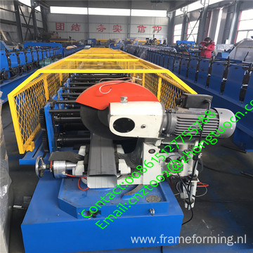Galvanized steel water tube /pipe/gutter rolling machine