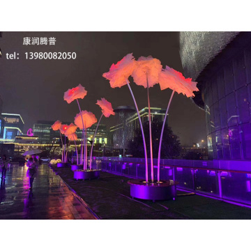 LED Large Landscape Flower Lights
