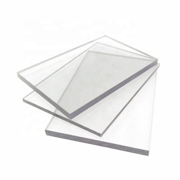Clear polycarbonate sheet anti static for workshop