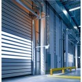 Overhead Rapid Turbine Hard Metal Rolling Door