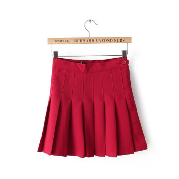European American Tennis Skirt Academic Pleated Skirt