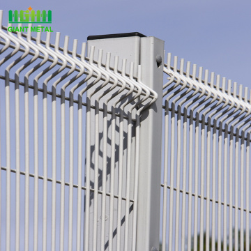 Commercial Galvanized Steel Welded Curved Wire Mesh Fence