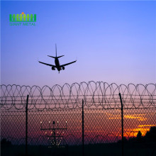 Airport security fence requirements