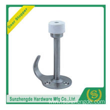 SZD SDH-031SS Hotel great design safety stainless steel wedge rubber door stopper