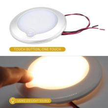 9-30V RC LED Touch Luminosity Camping Car RV Roof Ceiling Cabin Light IP67 Touch Dimming Marine Interior Lamp Caravan Accessory