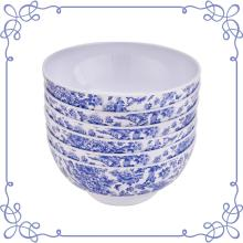 "8"" Melamine dinnerware Deep Bowl set of 6"