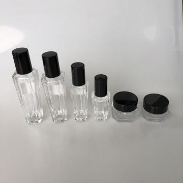 120ml clear bottle with sharp angle