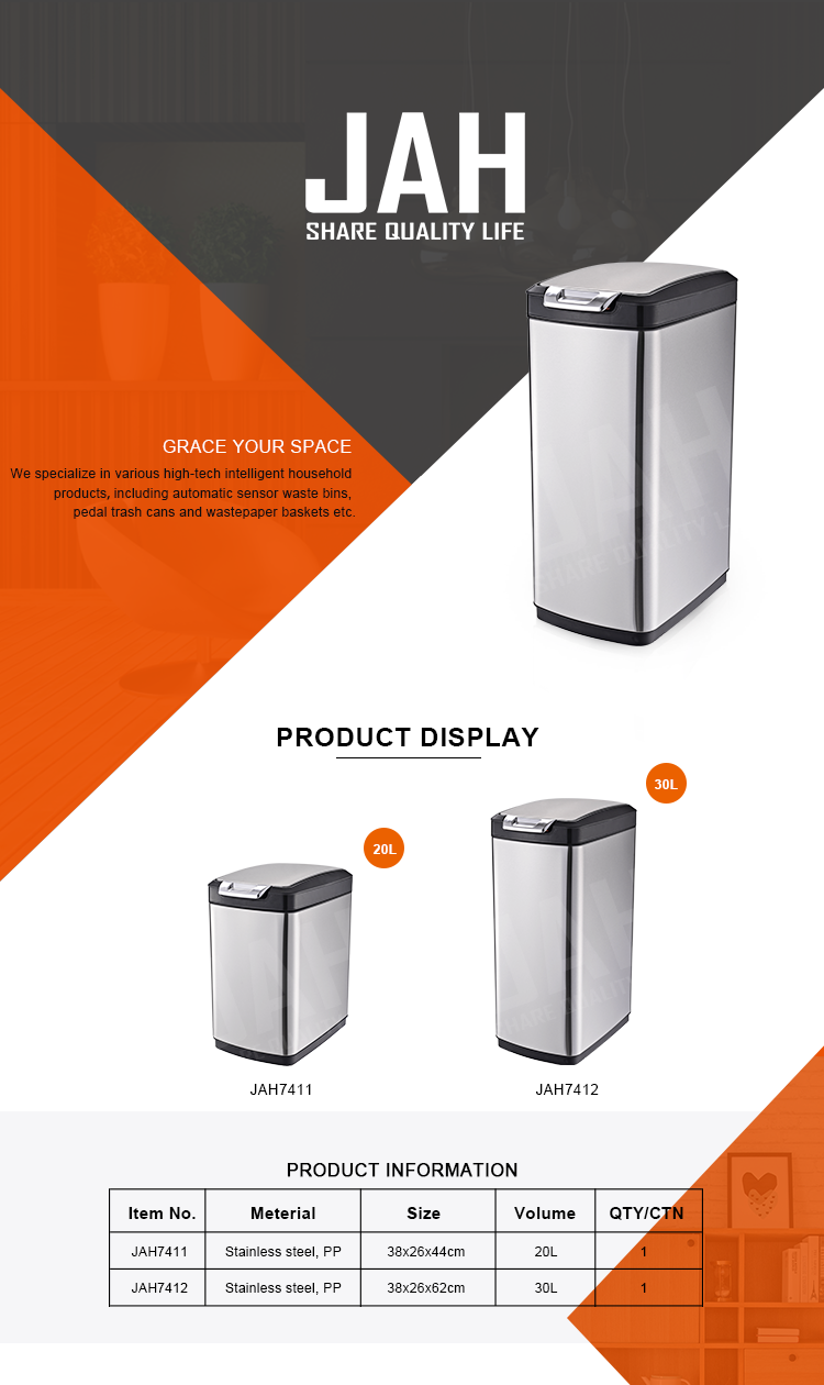 Large Capacity Trash Bin