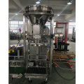 Double screw feeding and packaging machine