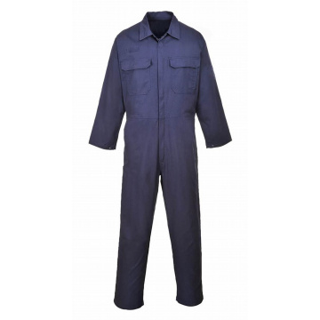 Acid-Resistant Poly-Cotton Work Suit