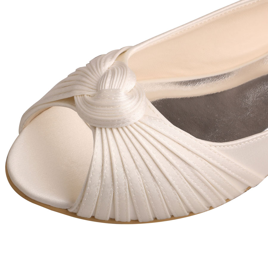 Ivory Bridesmaid Shoes