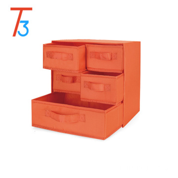 Foldable Drawer Dividers, Storage Boxes, Closet Organizers, Under Bed Organizer, for Clothing, Shoes, Underwear, Bra, Socks