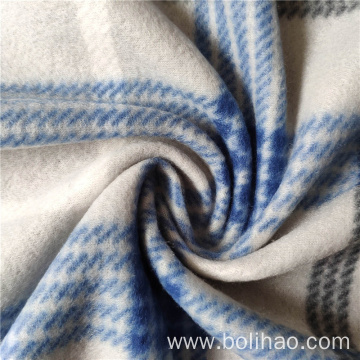 Plaid Printed Polar Fleece Fabric
