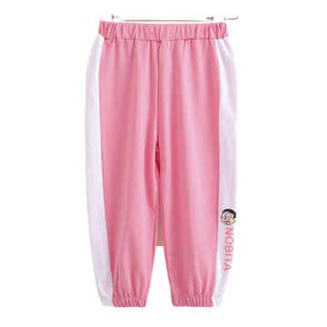 Boys Girls Unisex Pretty Splicing Cotton Sports Pants