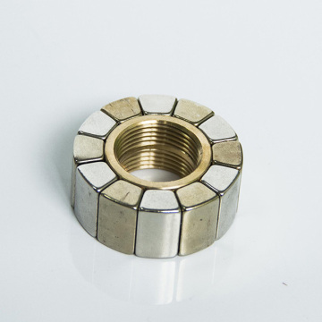 Neodymium Magnet Assembly with Internal Thread