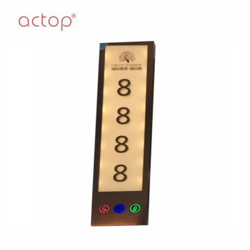 Actop new design hotel door plate 2018