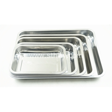 Food Grade High Quality Stainless Steel Buffet Tray
