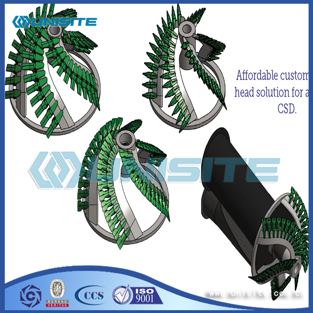 Steel Cutter Dredge Heads