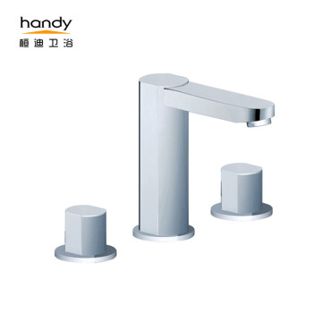 Bathroom Double Handle Basin Mixer