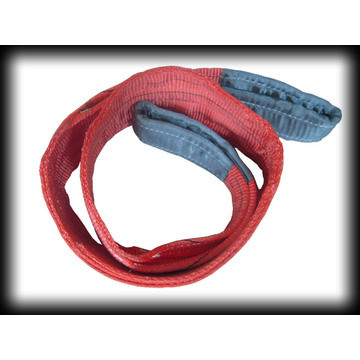 Hot sale 2-ply Webbing Sling With Flat Eye
