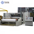 Spunbond nonwoven machine with high quality