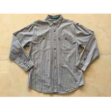 100% Cotton Long Sleeve Plaid Shirt