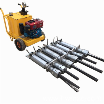 Durable Hydraulic Quarrying Hard Rock Splitter For Mining