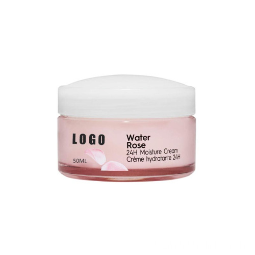 Pink Rose Water Whitening Facial Cream